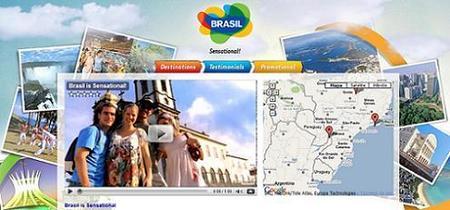 Brasil se promociona en YouTube