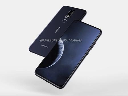 El Nokia X71 con agujero en pantalla, triple cámara y 48 megapíxeles vería la luz el 2 de abril