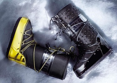 A la nieve con estilo (y mucho glamour): Moon Boots x Jimmy Choo