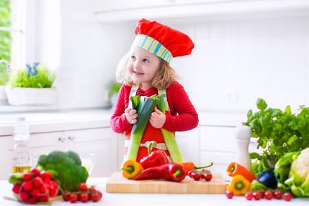 Verduras en la alimentación infantil: cebolla y puerro