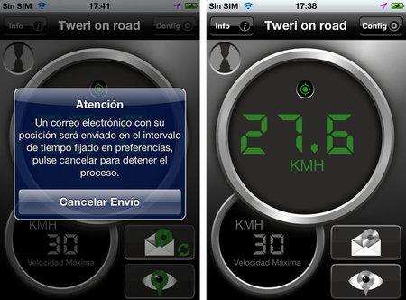 Tweri on Road, una aplicación que le cuenta a tu familia por dónde andas