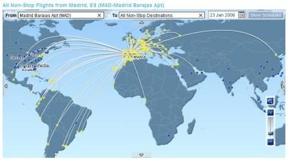 Flyhere: investiga a qué destinos puedes volar