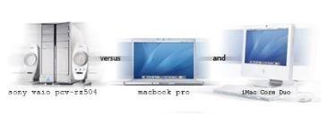 Sony VAIO más rápido que iMac con Mac OS X