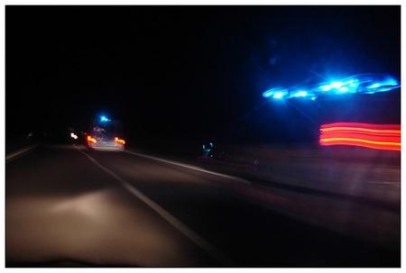 Cazado por exceso de velocidad con la moto de autoescuela