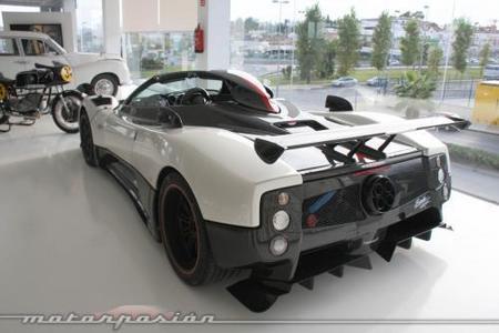 Cars & Art Pagani Zonda Cinque Roadster