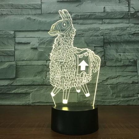 Llama Lampara