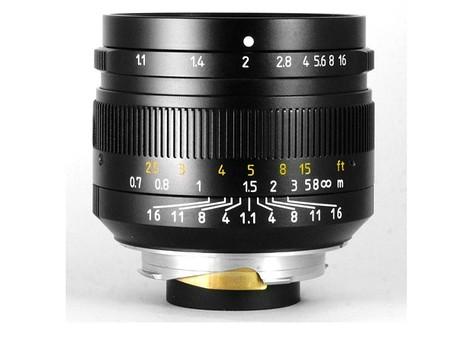7Artisans 500 mm. f/1,1 para Leica M