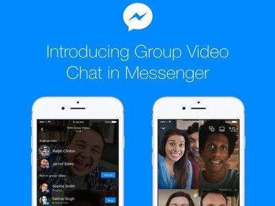 Las videollamadas en grupo llegan a Facebook Messenger