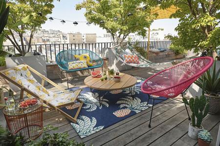 Las rebajas de Maisons du Monde te ayudarán a decorar tu terraza este verano al mejor precio: hasta un 50% de descuento