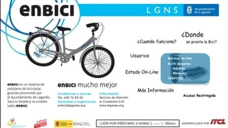En Leganés te prestan la bici gratis