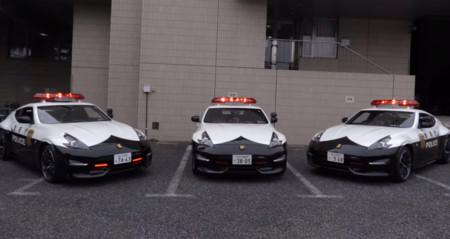 La policía de Tokio estrena tres Nissan 370Z NISMO