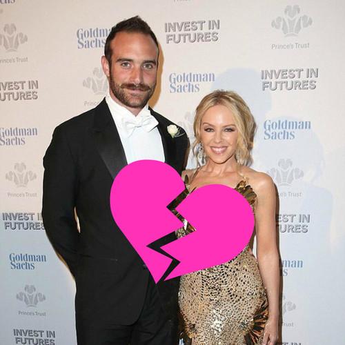 ¡Ay Diosito! ¡Que Kylie Minogue y Joshua Sasse han roto!