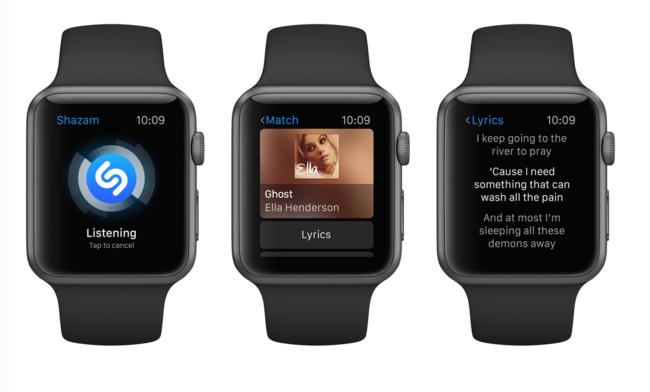 Shazam Apple Watch