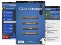 iClub Manager, un aspirante español del estilo PC Fútbol para iOS