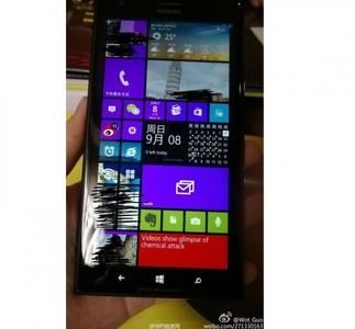 Se filtra una nueva fotografía del Lumia 1520  que muestra la personalización de su pantalla