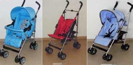 10 sillas de paseo peligrosas