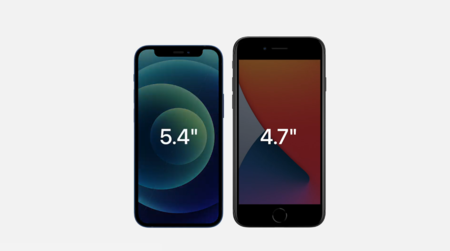 Iphone 12 Mini Tamano Iphone Se 2020