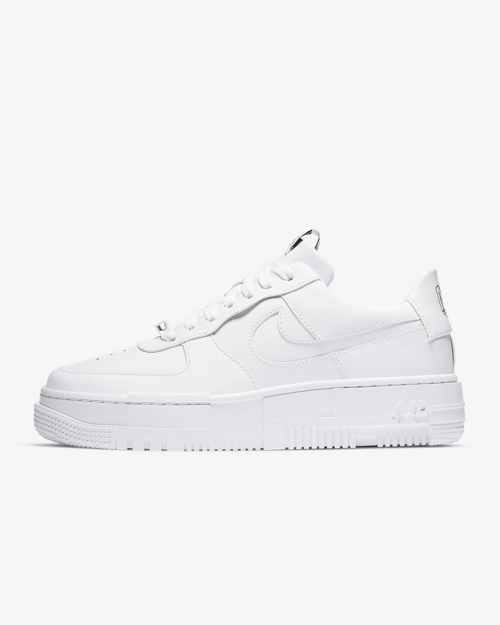 Deportivas Air Force 1 Pixel blancas