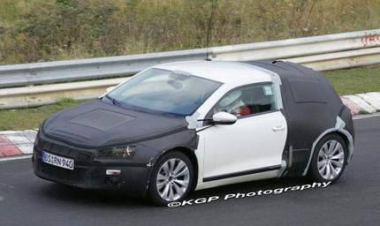 El Volkswagen Scirocco da sus primeros pasos por Nürburgring