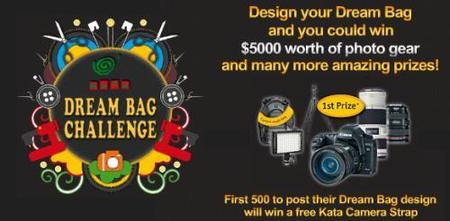 Diseña la nueva mochila de Kata y gana un equipo fotográfico completo
