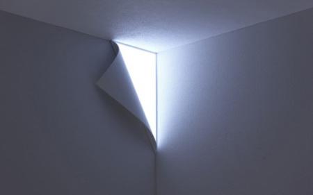 No se me está pelando la pared, es mi nueva lámpara Peel