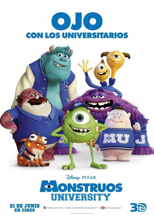 Foto de Carteles de 'Monstruos University' (15/19)