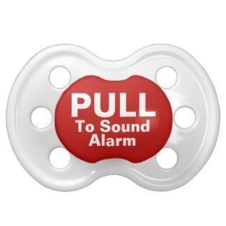 Retirar para que suene la alarma