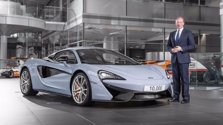 McLaren celebra sus 10.000 deportivos fabricados