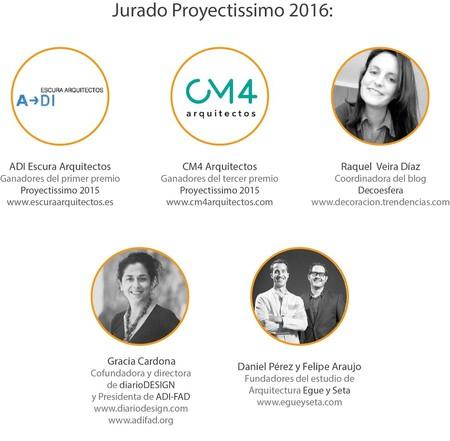 Jurado Proyectissimo 2016