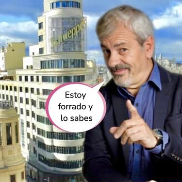Carlos Sobera está forrado: aumenta su millonario patrimonio inmobiliario en Madrid con dos pisazos