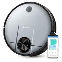 Oferta del día en el robot de limpieza Proscenic Robot Aspirador M6 Pro, controlable mediante Alexa, que cuesta 295,20 euros hasta medianoche