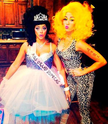 ¡Disfraces y más disfraces de las celebrities en Halloween!