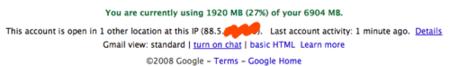 Gmail añade cierre de sesión remoto e información de tus últimas conexiones