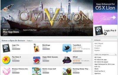 La Mac App Store supera las cien millones de descargas en menos de un año