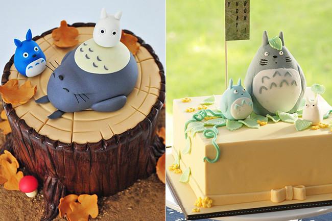 Tartas Totoro