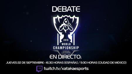¡Debate Pre-Mundial 2016! A las 16.30h (las 9.30h en Ciudad de México) [Finalizado]