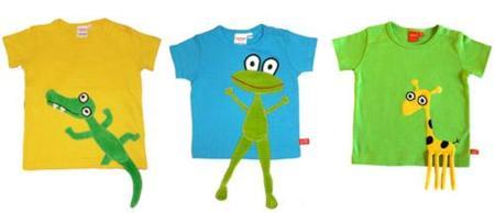 LipFish: camisetas con diseños tridimensionales para niños