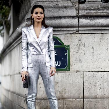 Plata (o plomo): este es el color que triunfa en el street style