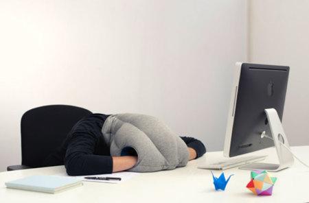 Ostrich pillow, porque cuando menos te lo esperas necesitas una siesta