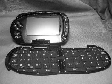 Seamles WiFi S-XGen, con teclado plegable