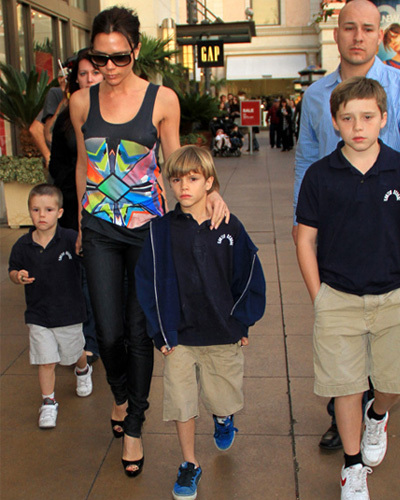 El look de Victoria Beckham para ir al cine