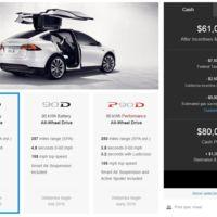 Tesla Model X tiene precio de partida: 80,000 dólares