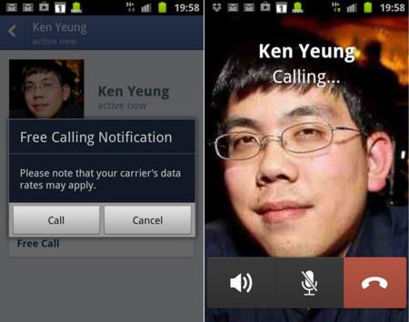 Facebook amplía el soporte de VoIP en su Messenger para Android