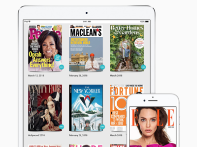 Apple sale de compras y adquiere Texture, un servicio de suscripción a revistas digitales