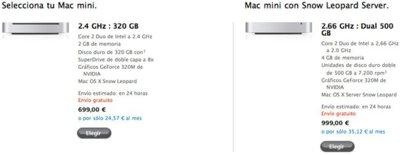 Apple rebaja los precios del Mac mini