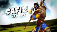 Aquí tenemos a Safiri, uno de los personajes de 'Sacred Citadel'