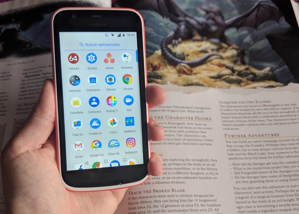 Nokia uno Android™ Go