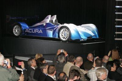 Acura LMP2 presentado en Nueva York