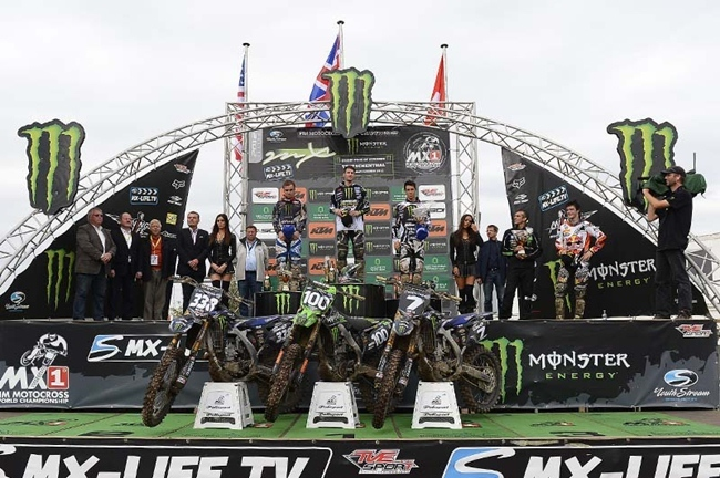 Podium MX2 Alemania