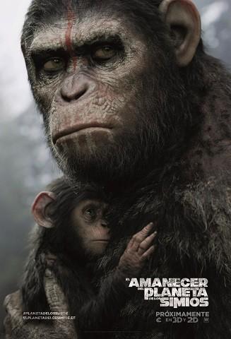 'El amanecer del planeta de los simios', tráiler final y cartel español de la secuela